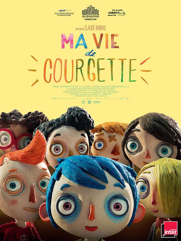 Affiche Ma vie de Courgette